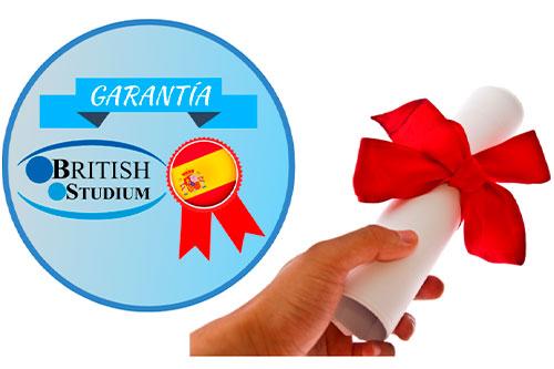 Certificado de Curso de Español
